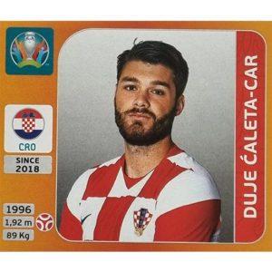 Panini EURO 2020 Sticker Nr 351 Duje Caleta-Car