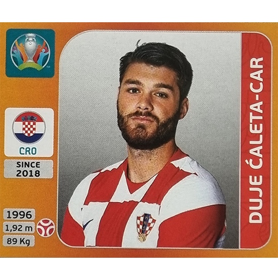 Panini EURO 2020 Sticker Nr 351 Duje Caleta-Car