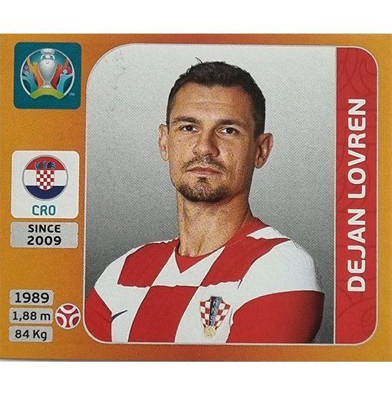 Panini EURO 2020 Sticker Nr 352 Dejan Lovren