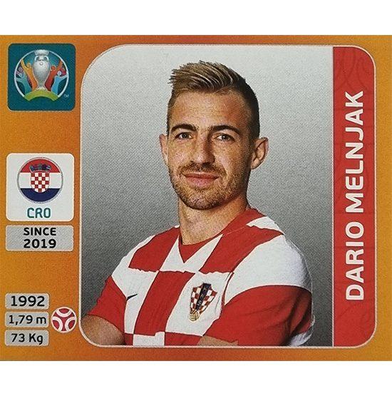 Panini EURO 2020 Sticker Nr 353 Dario Melnjak