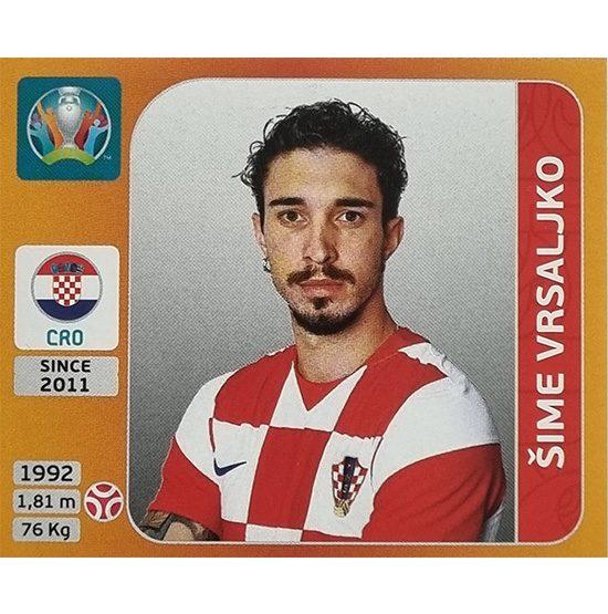 Panini EURO 2020 Sticker Nr 356 Sime Vrsaljko