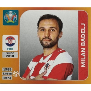 Panini EURO 2020 Sticker Nr 357 Milan Badelj