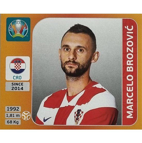 Panini EURO 2020 Sticker Nr 358 Marcelo Brozovic