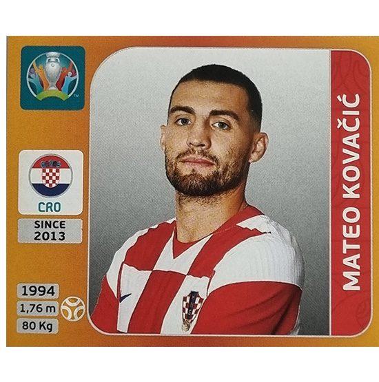 Panini EURO 2020 Sticker Nr 359 Mateo Kovacic