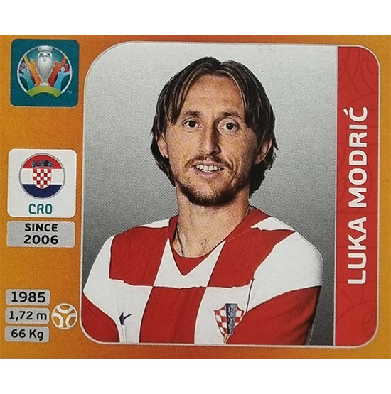 Panini EURO 2020 Sticker Nr 360 Luka Modric