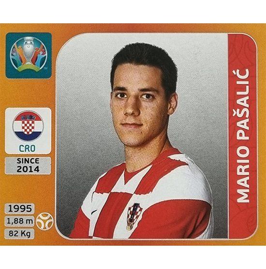 Panini EURO 2020 Sticker Nr 361 Mario Pasalic