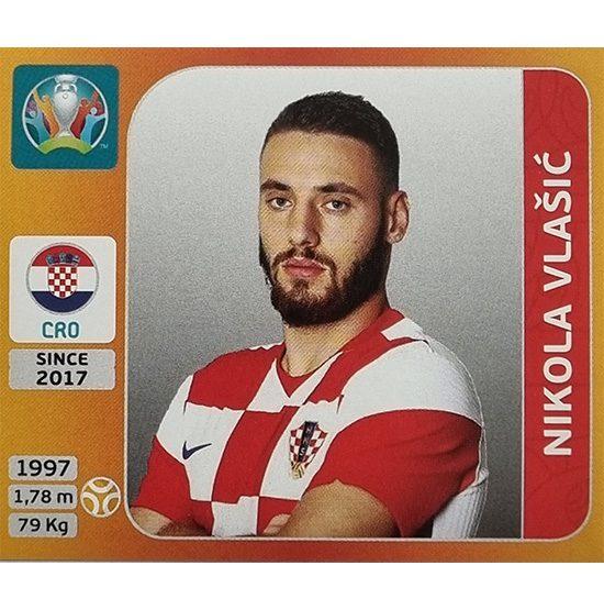 Panini EURO 2020 Sticker Nr 362 Nikola Vlasic