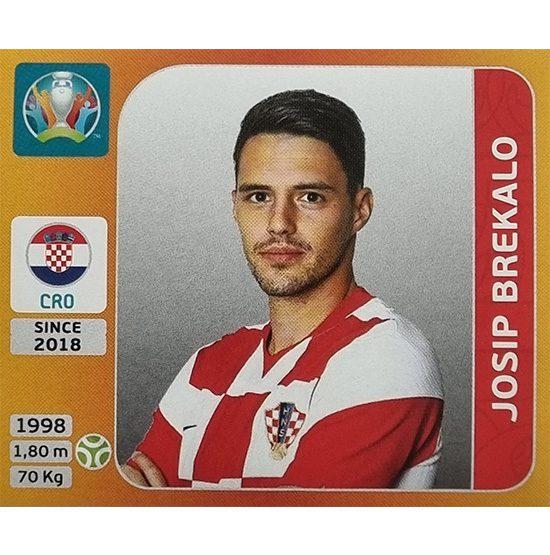 Panini EURO 2020 Sticker Nr 363 Josip Brekalo