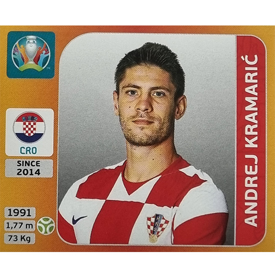 Panini EURO 2020 Sticker Nr 364 Andrej Kramaric