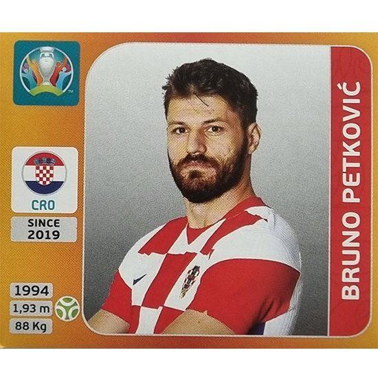 Panini EURO 2020 Sticker Nr 366 Bruno Petkovic