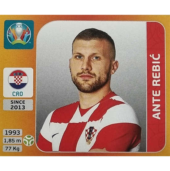Panini EURO 2020 Sticker Nr 367 Ante Rebic