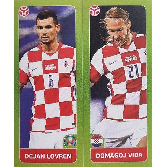 Panini EURO 2020 Sticker Nr 369 Lovren Vida