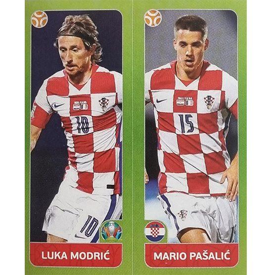 Panini EURO 2020 Sticker Nr 371 Modric Pasalic