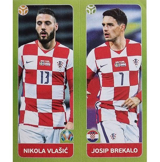 Panini EURO 2020 Sticker Nr 372 Vlasic Brekalo