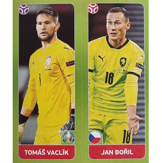 Panini EURO 2020 Sticker Nr 374 Vaclik Boril