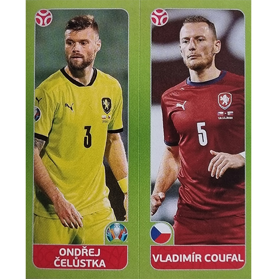 Panini EURO 2020 Sticker Nr 375 Celustka Coufal