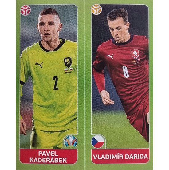 Panini EURO 2020 Sticker Nr 376 Kaderabek Darida