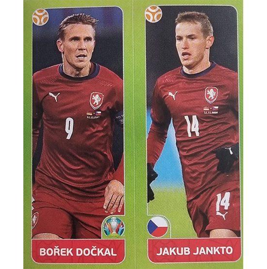 Panini EURO 2020 Sticker Nr 377 Dockal Jankto