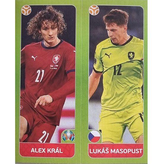 Panini EURO 2020 Sticker Nr 378 Kral Masopust