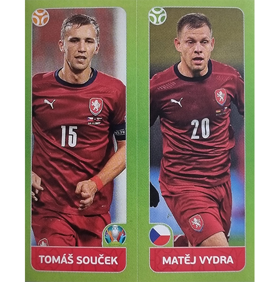 Panini EURO 2020 Sticker Nr 379 Soucek Vydra