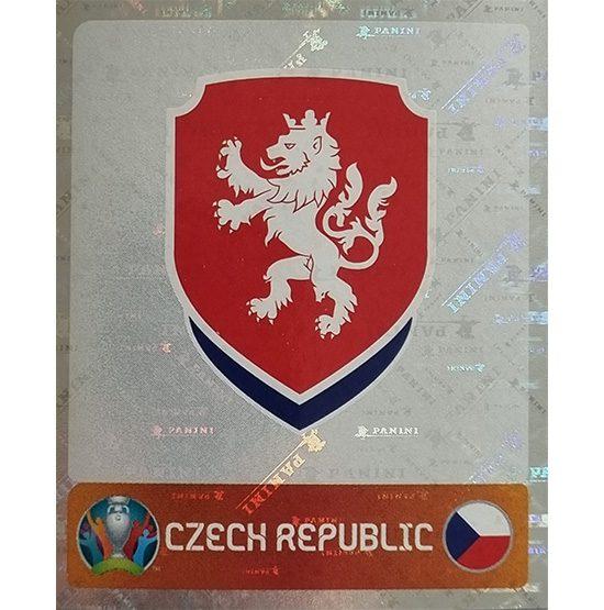 Panini EURO 2020 Sticker Nr 380 Czech Republic Logo