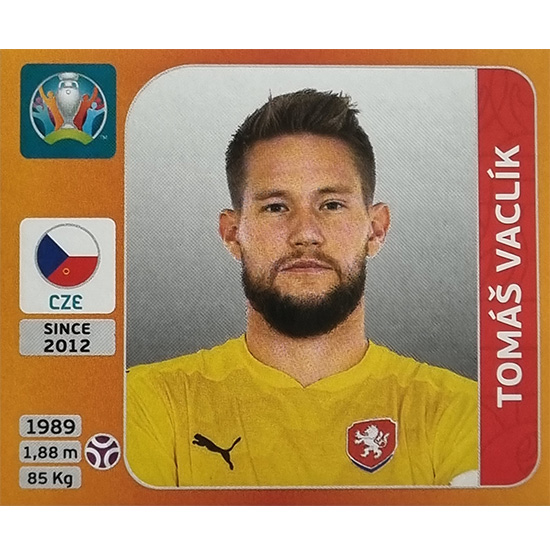Panini EURO 2020 Sticker Nr 381 Tomas Vaclik
