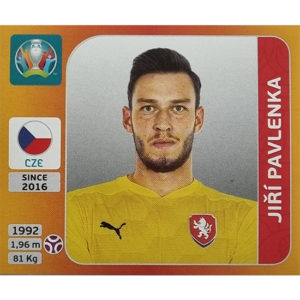Panini EURO 2020 Sticker Nr 382 Jiri Pavlenka