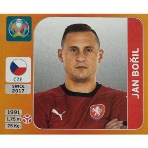 Panini EURO 2020 Sticker Nr 383 Jan Boril
