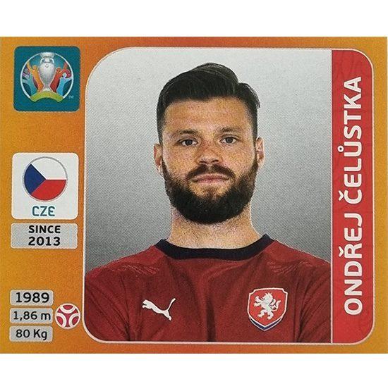 Panini EURO 2020 Sticker Nr 385 Ondrej Celustka