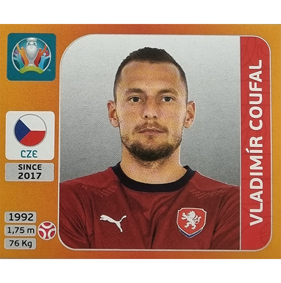 Panini EURO 2020 Sticker Nr 386 Vladimir Coufal