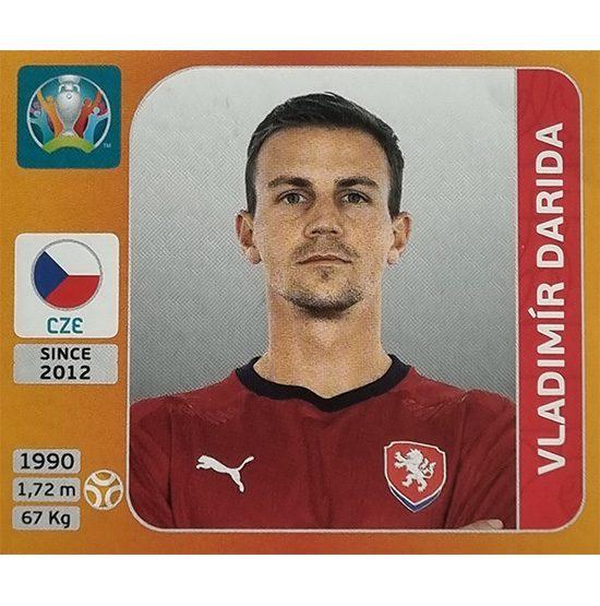 Panini EURO 2020 Sticker Nr 390 Vladimir Darida