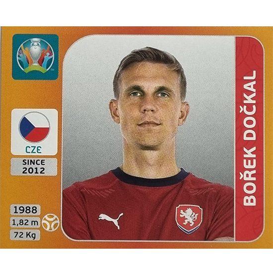 Panini EURO 2020 Sticker Nr 391 Borek Dockal