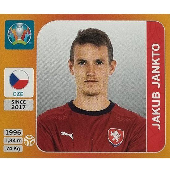 Panini EURO 2020 Sticker Nr 392 Jakub Jankto