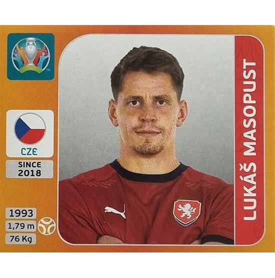 Panini EURO 2020 Sticker Nr 394 Lukas Masopust