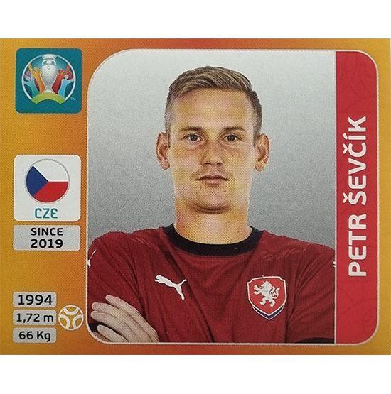 Panini EURO 2020 Sticker Nr 395 Petr Sevcik