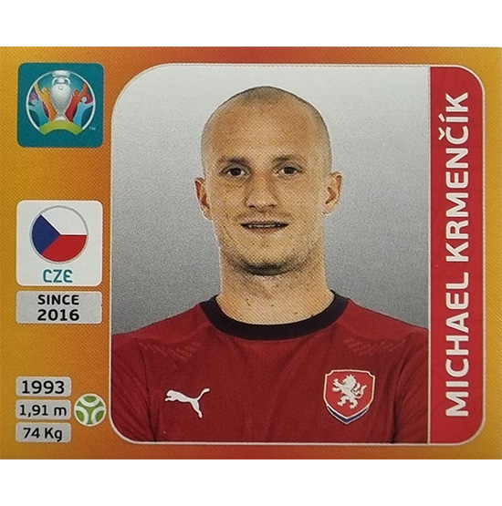 Panini EURO 2020 Sticker Nr 397 Michael Krmencik