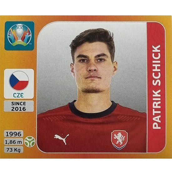 Panini EURO 2020 Sticker Nr 399 Patrick Schick