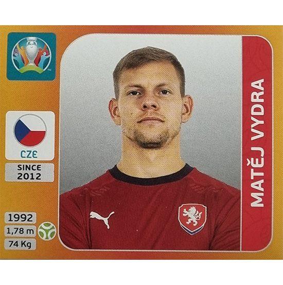 Panini EURO 2020 Sticker Nr 400 Matej Vydra