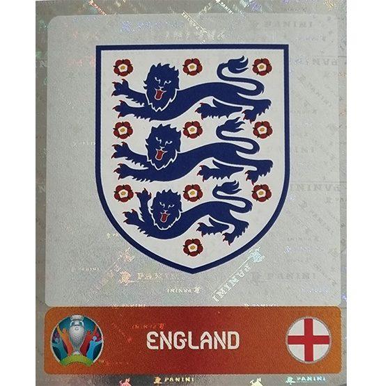 Panini EURO 2020 Sticker Nr 401 England Logo
