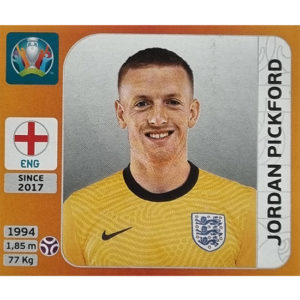 Panini EURO 2020 Sticker Nr 402 Jordan Pickford