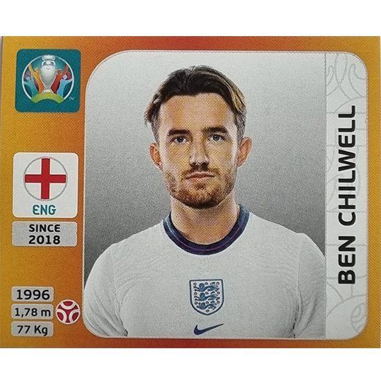 Panini EURO 2020 Sticker Nr 405 Ben Chilwell