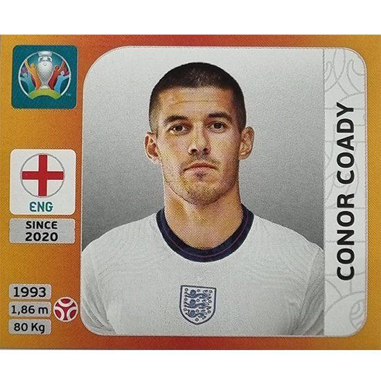 Panini EURO 2020 Sticker Nr 406 Conor Coady