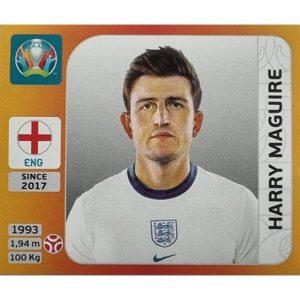 Panini EURO 2020 Sticker Nr 407 Harry Maguire