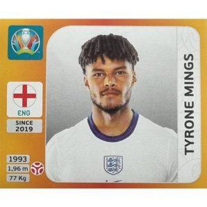 Panini EURO 2020 Sticker Nr 408 Tyrone Mings