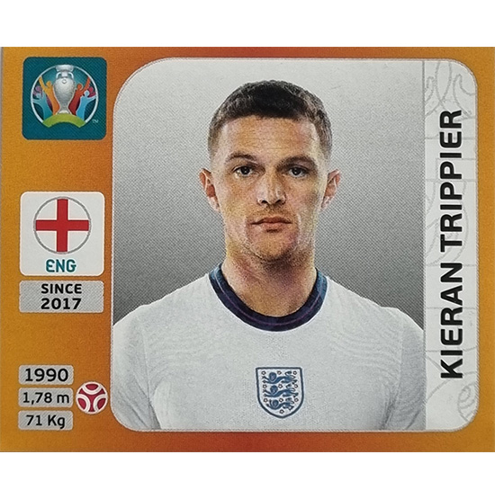 Panini EURO 2020 Sticker Nr 409 Kieran Trippier