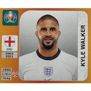 Panini EURO 2020 Sticker Nr 410 Kyle Walker