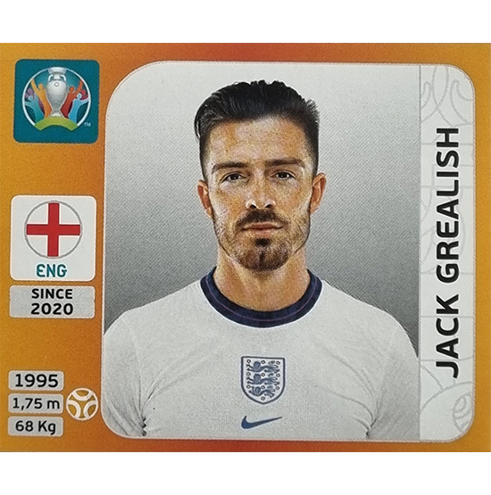 Panini EURO 2020 Sticker Nr 413 Jack Grealish