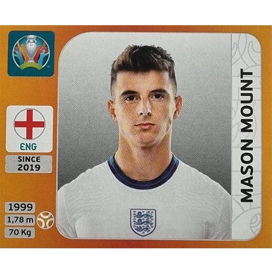 Panini EURO 2020 Sticker Nr 415 Mason Mount