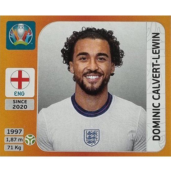 Panini EURO 2020 Sticker Nr 417 Dominic Calvert-Lewin