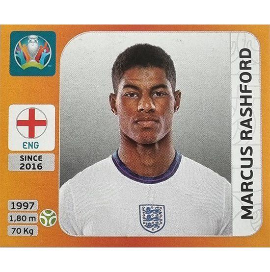 Panini EURO 2020 Sticker Nr 419 Marcus Rashoford